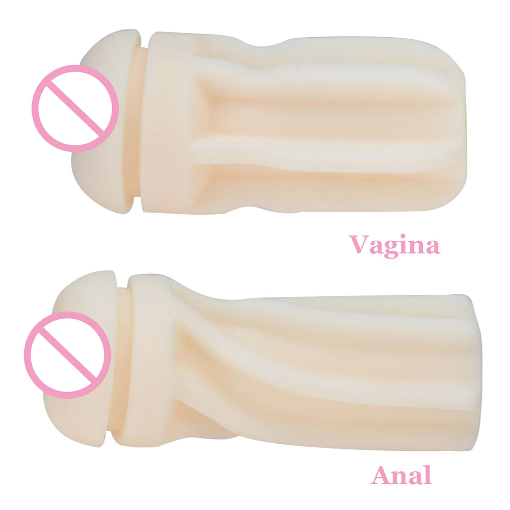 Male Masturbator Sex toys for men Silicone Vagina Real Pussy And Anal Pocket Pussy Masturbation Cup Anus Sex Product for Man 12