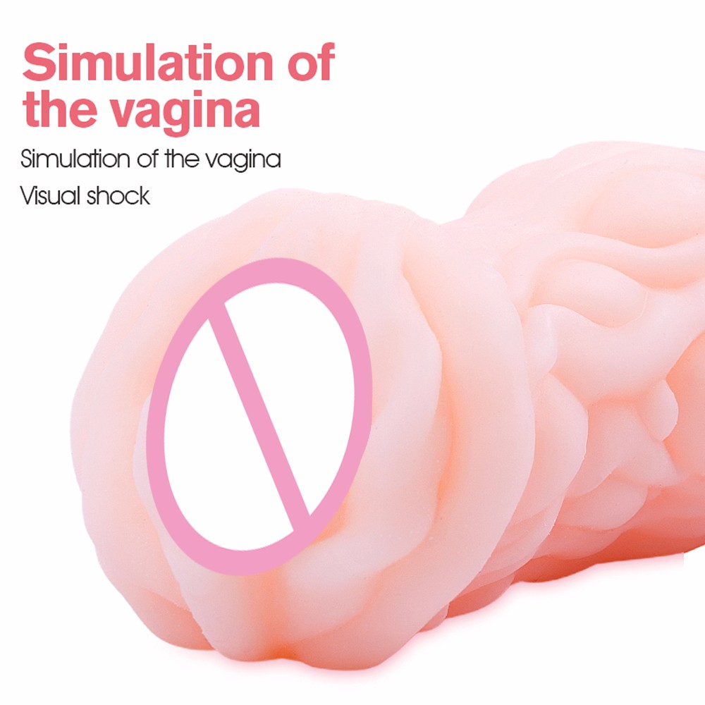 Real Feel Artificial Vagina Skin, Real Pocket Pussy, Male Masturbation Cup, Sex Products Adult Sex Toys for Men for masturbator 1