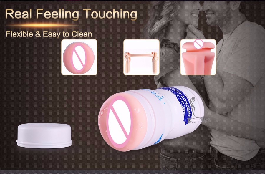 Masturbator Artificial Vagina Pocket Pussy Masturbator for Man Male Masturbator Pussy Adult Sex Toys for Men Sex Product 49% [ 17