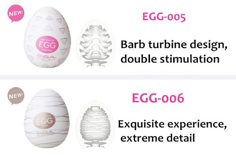 Original TENGA Egg Male Masturbator For Man Sex Pocket Realistic Vagina Japan Silicone Egg With Lubricant Sex Toys For Men 6