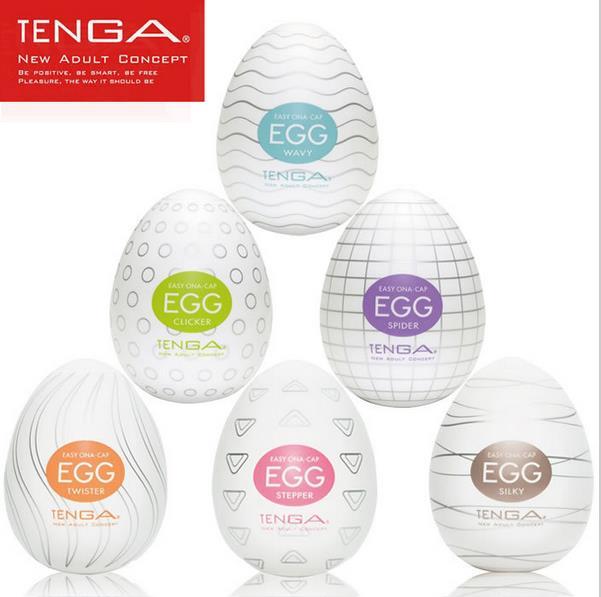 Original TENGA Egg Male Masturbator For Man Sex Pocket Realistic Vagina Japan Silicone Egg With Lubricant Sex Toys For Men 1