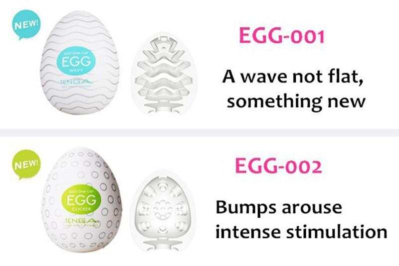 Original TENGA Egg Male Masturbator For Man Sex Pocket Realistic Vagina Japan Silicone Egg With Lubricant Sex Toys For Men 4