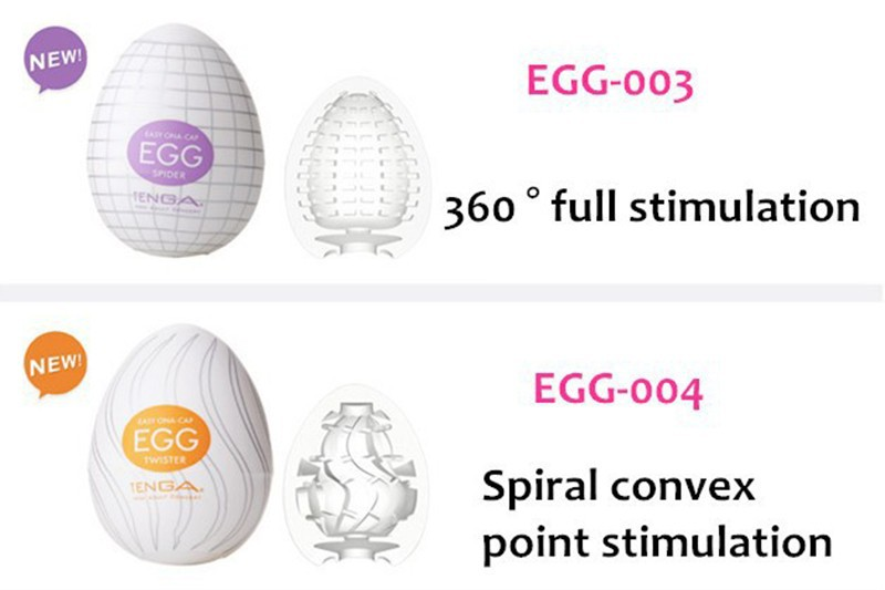 Original TENGA Egg Male Masturbator For Man Sex Pocket Realistic Vagina Japan Silicone Egg With Lubricant Sex Toys For Men 5